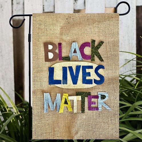 Black Lives Matter BLM Garden or House Flag, Yard Decor