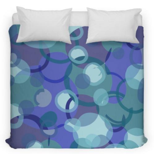 Blue Camouflage Bedding/Duvet Cover