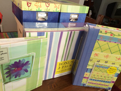 Target photos albums/boxes