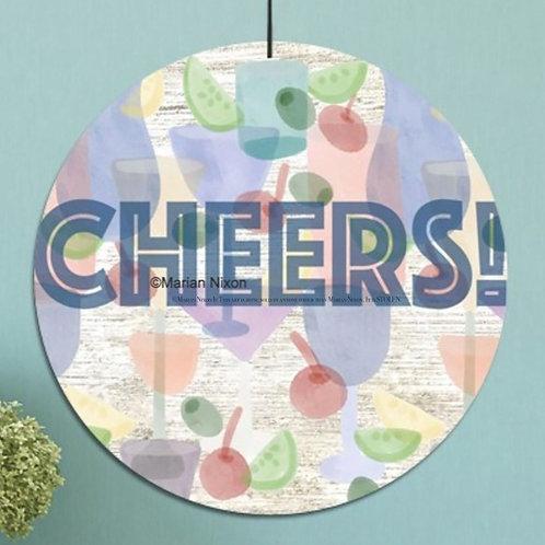Cheers! Sign, Indoor/Outdoor Wall Decor