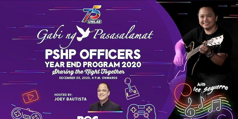 Yearend Program 2020: Sharing the Night Together