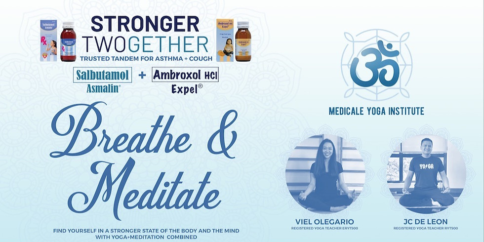Stronger TWOgether: Breathe and Meditate