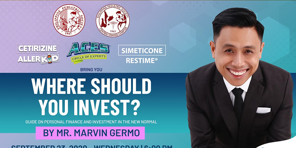 Where Should You Invest (Guide on Personal Finance and Investment in the New Normal) with Marvin Germo