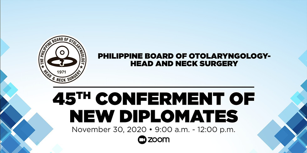 45TH CONFERMENT OF NEW DIPLOMATES