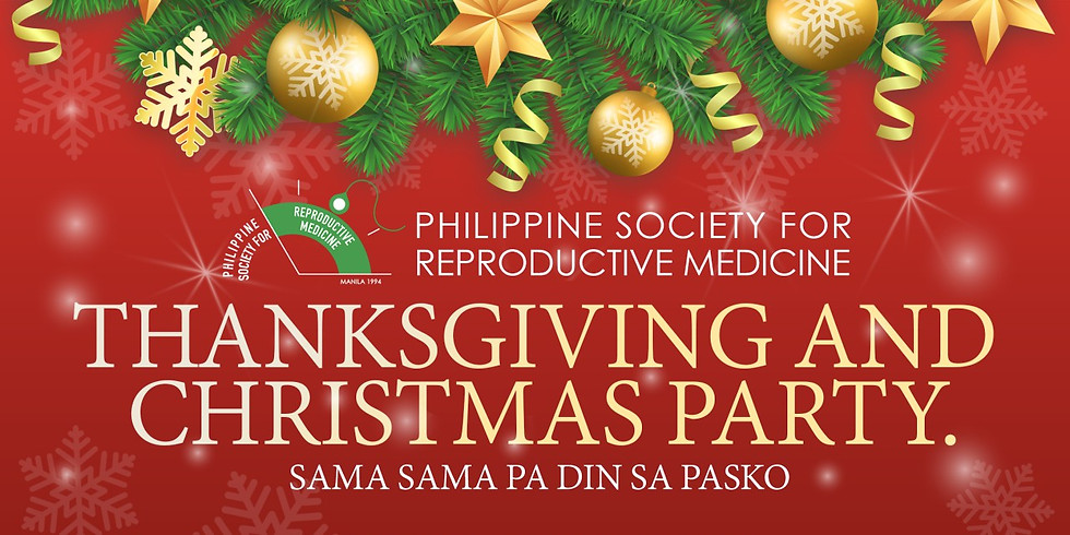 PSRM Thanksgiving and Christmas Party