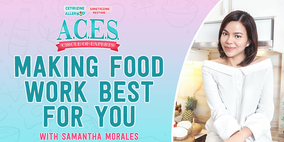 Making Food Work Best for you