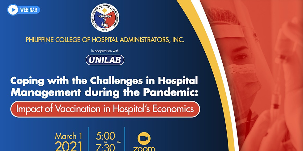 Coping with the Challenges in Hospital Management During the Pandemic: Impact of Vaccination in Hospital's Economics