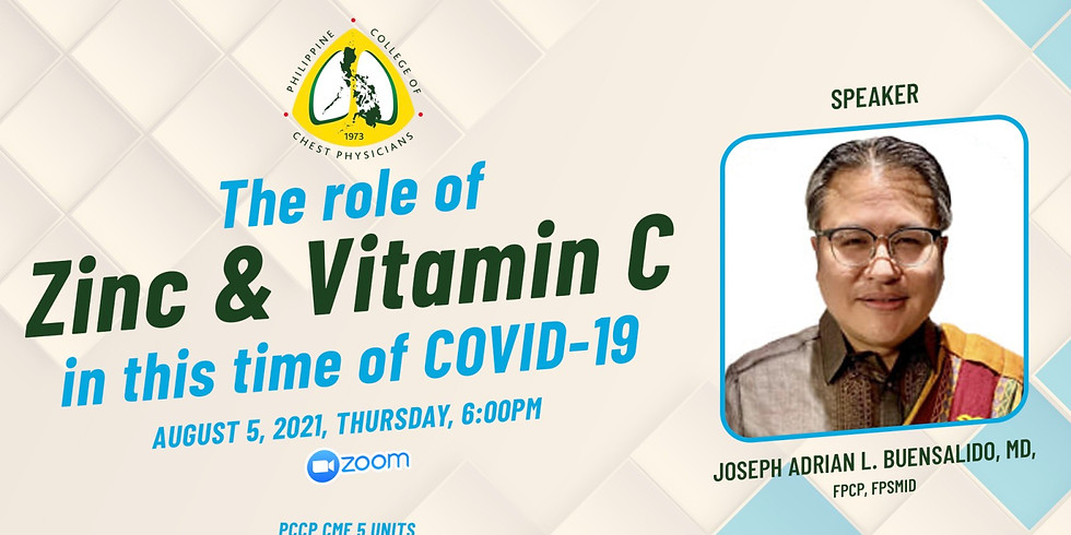The Role of Zinc & Vitamin C in this time of COVID-19