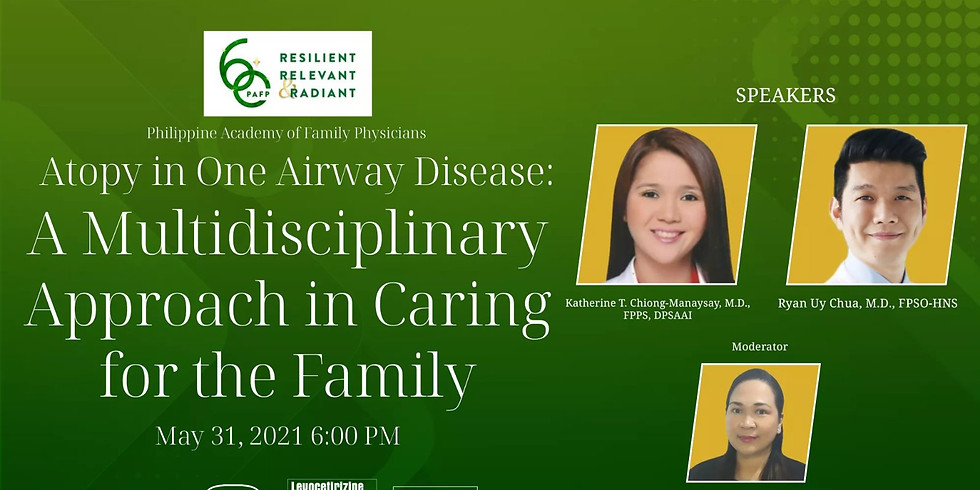Atopy in One Airway Disease:  A Multidisciplinary Approach in for the Family