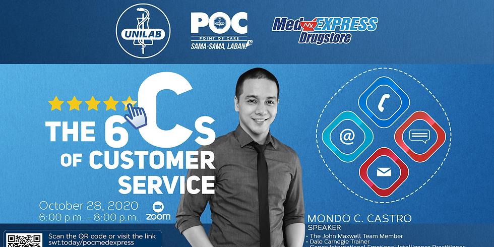 The 6 Cs of Customer Service