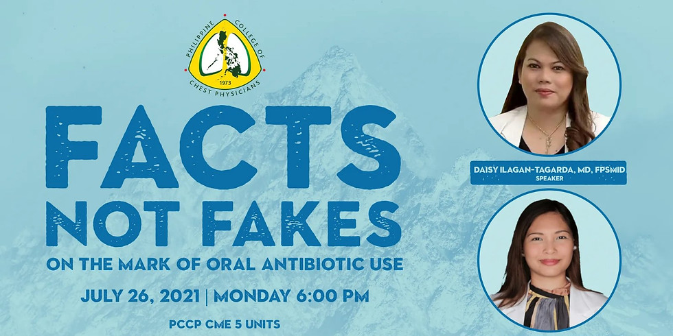 FACTS NOT FAKES on the Mark of Oral Antibiotic Use