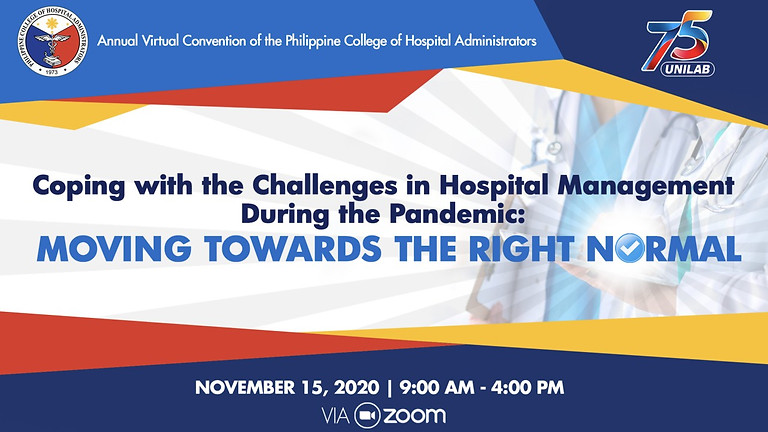 Coping with the Challenges in Hospital Management During the Pandemic: Moving Towards the Right Normal