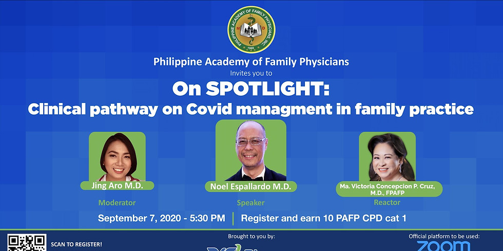 On Spotlight: Clinical Pathway for Covid Management in Family Physician
