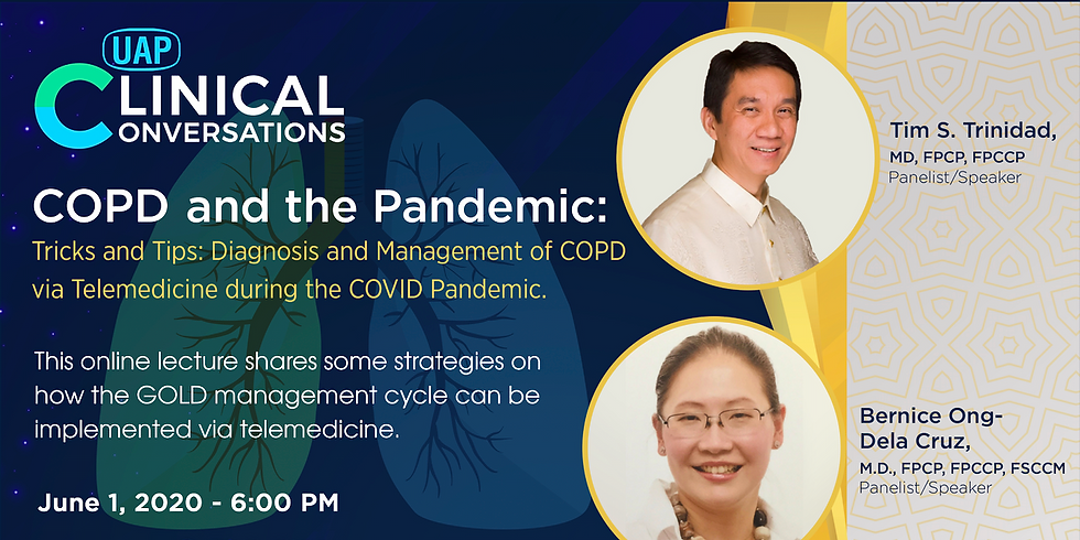 Tricks and Tips: Diagnosis and Management of COPD via Telemedicine during the COVID Pandemic