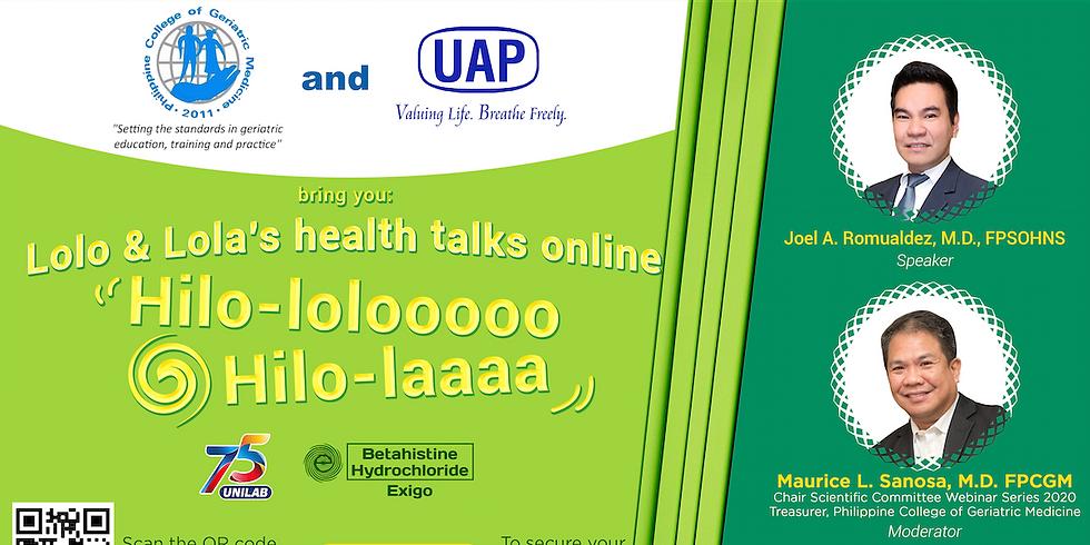 Lolo & Lola's Health Talks Online - Hilo-lolooooo, Hilo - Laaaa