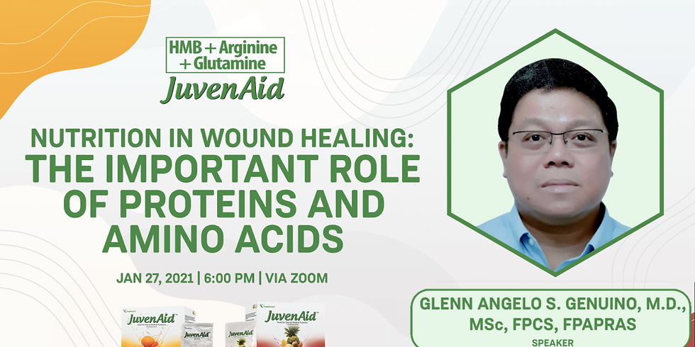 Nutrition in Wound Healing: The Important Role of Proteins and Amino Acids