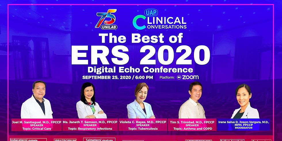 The Best of ERS 2020