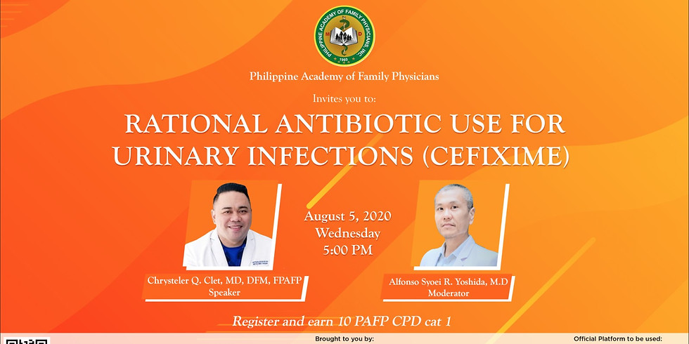 Rational Antibiotic use for urinary infections (Cefixime)