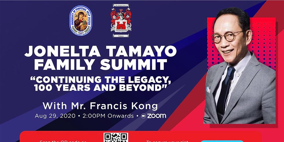 Jonelta Tamayo Family Summit