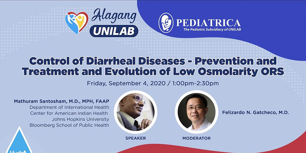 Control of Diarrheal Diseases - Prevention and Treatment and Evolution of Low Osmolarity ORS