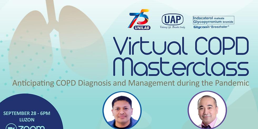 VIRTUAL COPD MASTER CLASS