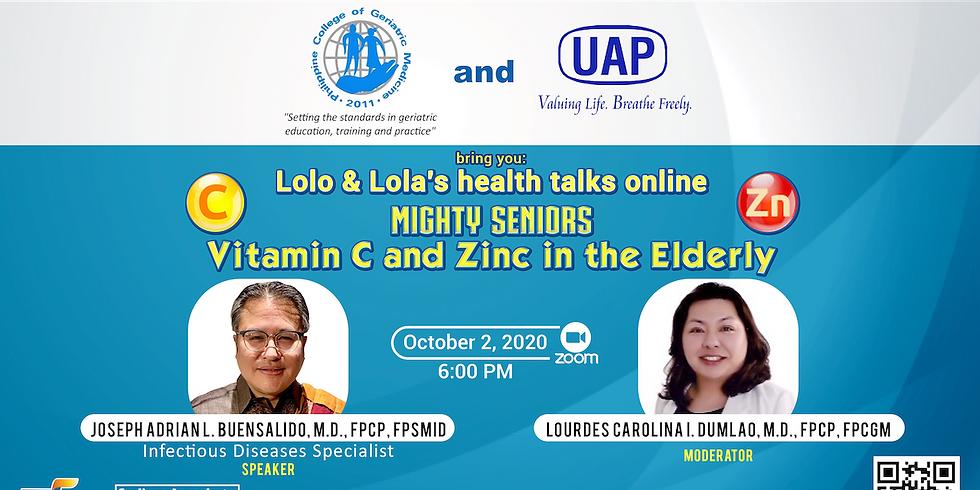 Lolo & Lola's Health Talks Online - Mighty Seniors