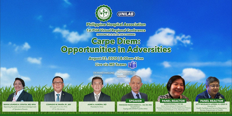 Carpe Diem: Opportunities in Adversities