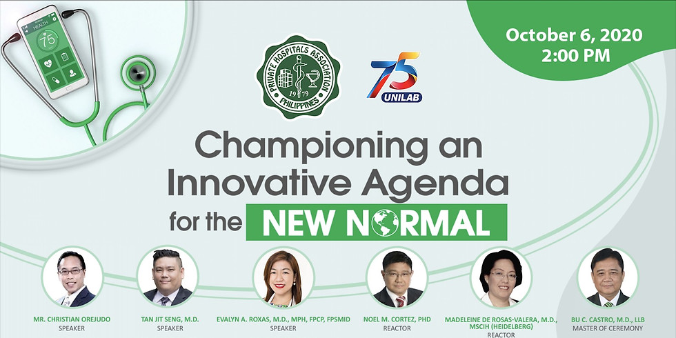 Championing on Innovative Agenda for the NEW NORMAL