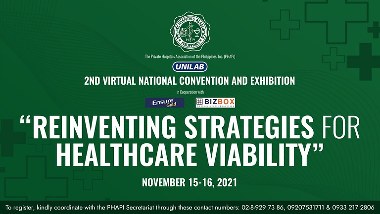 PHAPi 2nd Virtual National Convention and Exhibition