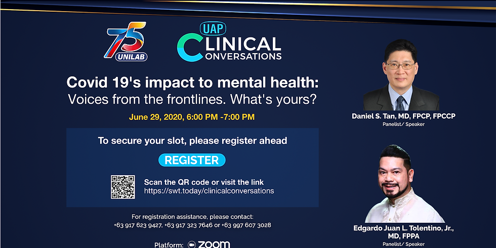 Clinical Conversations: Covid 19's impact to mental health