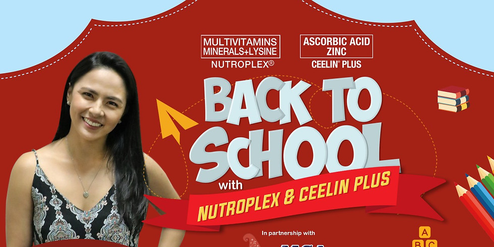 Back to School with Nutroplex and Ceelin Plus