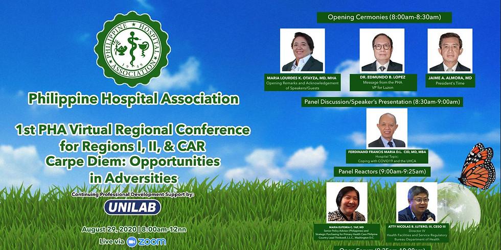 Philippine Hospital Association 1st PHA Virtual Regional Conference