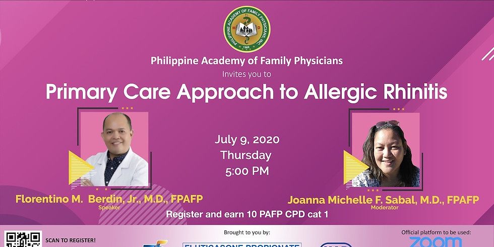 Primary Care Approach to Allergic Rhinitis