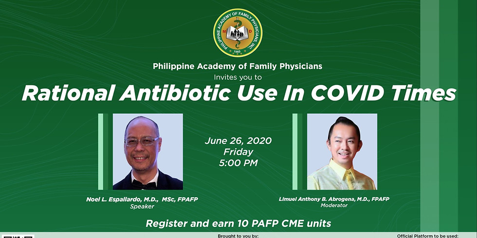 Clinical Conversations: Rational Antibiotic use in Covid Times