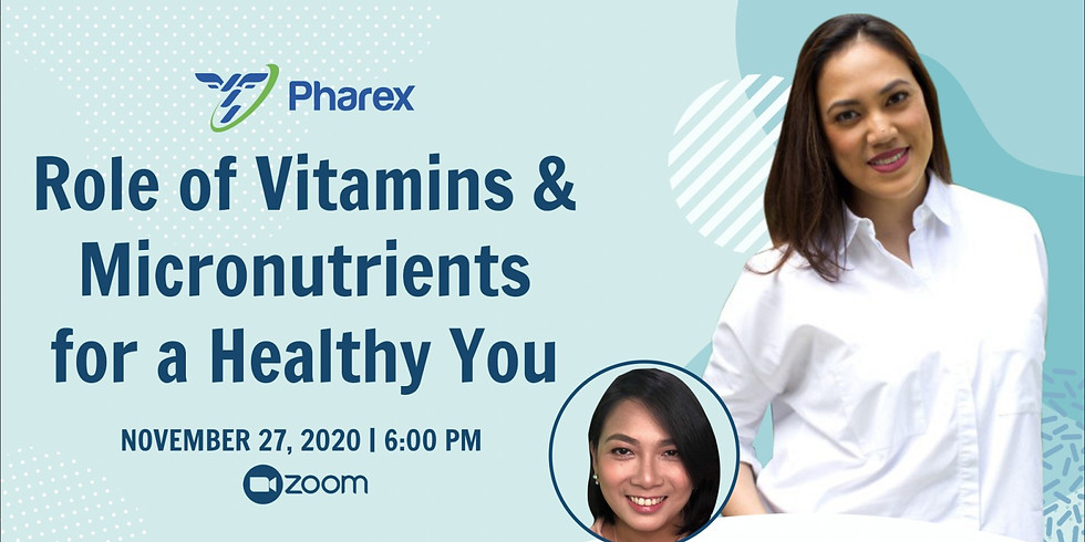 Role of Vitamins and Micronutrients for a Healthy You