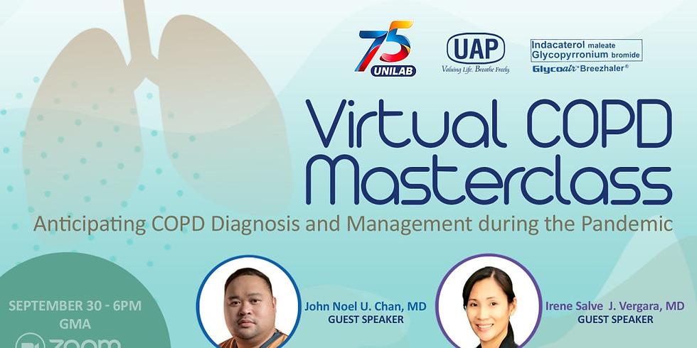 VIRTUAL COPD MASTERCLASS