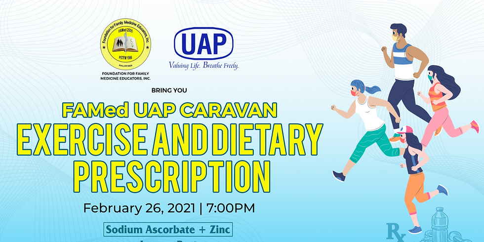 FAMed-UAP Caravan: How to Write Exercise and Dietary Prescriptions