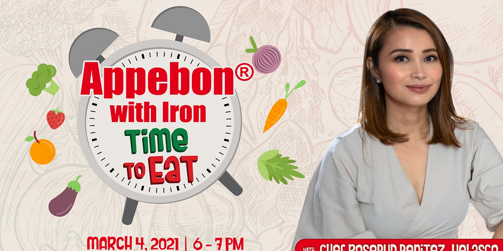 Appebon with Iron Time to Eat