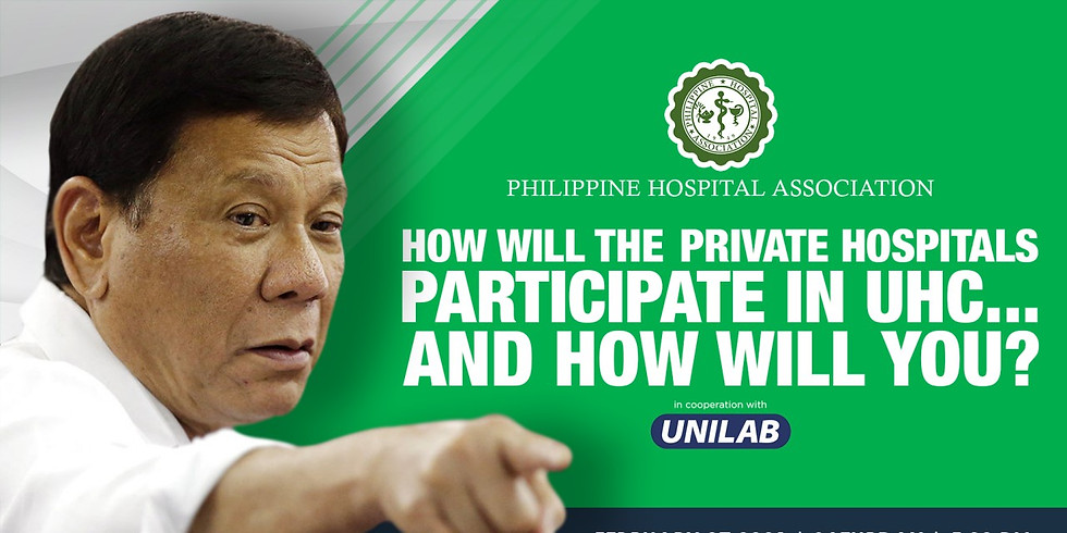 How will the Private Hospitals Participate in UHC... And How will you