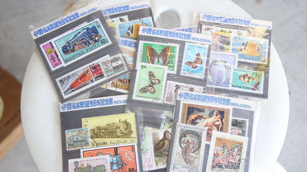 切手シート(1つあたり)