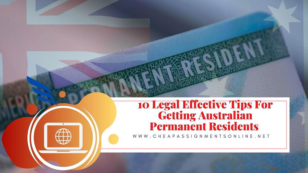 How to Get Australian PR Permanent Residents