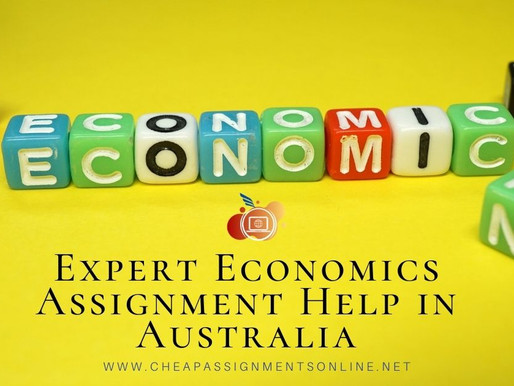 Expert Economics Assignment Help in Australia