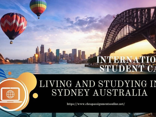 Living and Studying in Sydney Australia