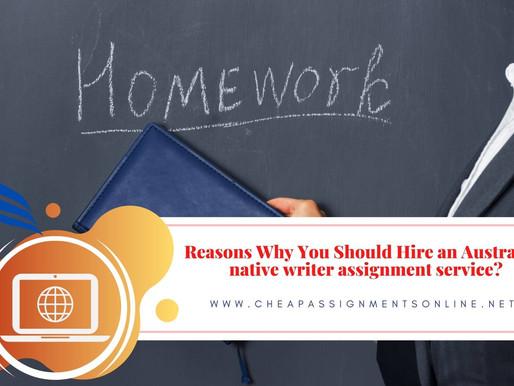 Benefits of Homework Assignment Services?