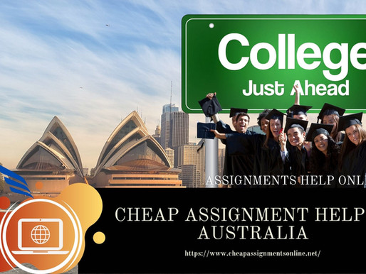 Cheap Assignment Help In Australia