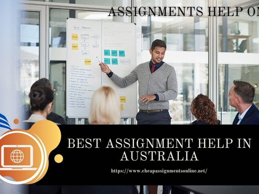 Best Assignment Help in Australia