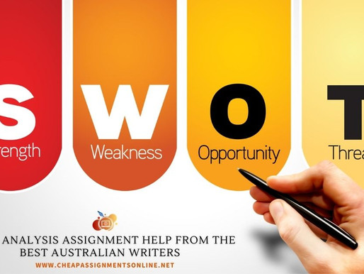SWOT Analysis Assignment Help from the Best Australian Writers