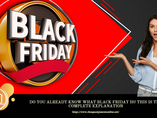 Do you already know what Black Friday is? This is the complete explanation