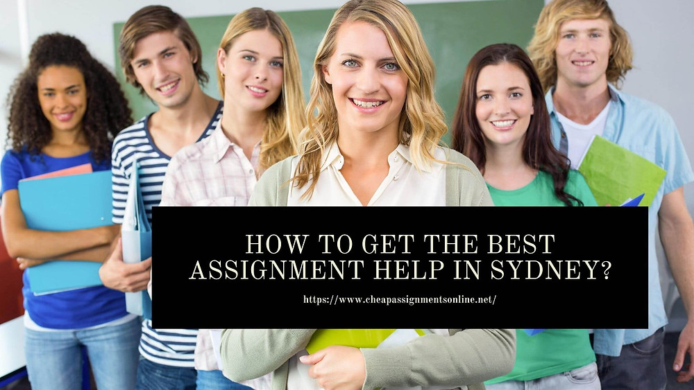 best assignments in sydney