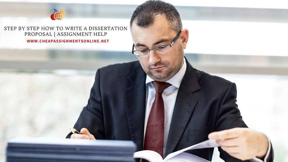 Step by step How To Write A Dissertation Proposal